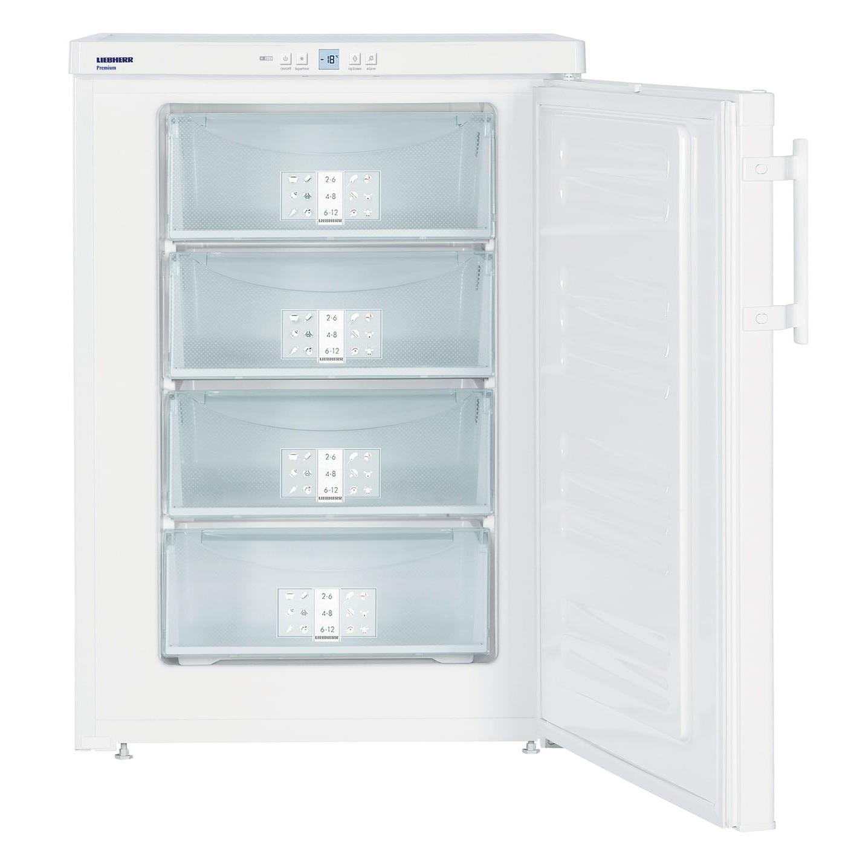 Fotografie Congelator Liebherr GP 1486,103 L, SmartFrost, Control electronic, Display, 4 sertare, H 85 cm, Clasa A+++, Alb