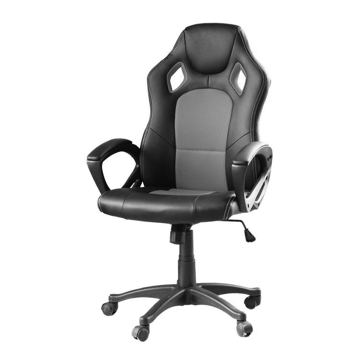 Iris GCH102BR Gamer szék, FeketePiros eMAG.hu