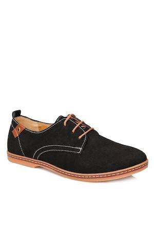 Мъжки обувки Oxford 262439, Черни, Размер 43