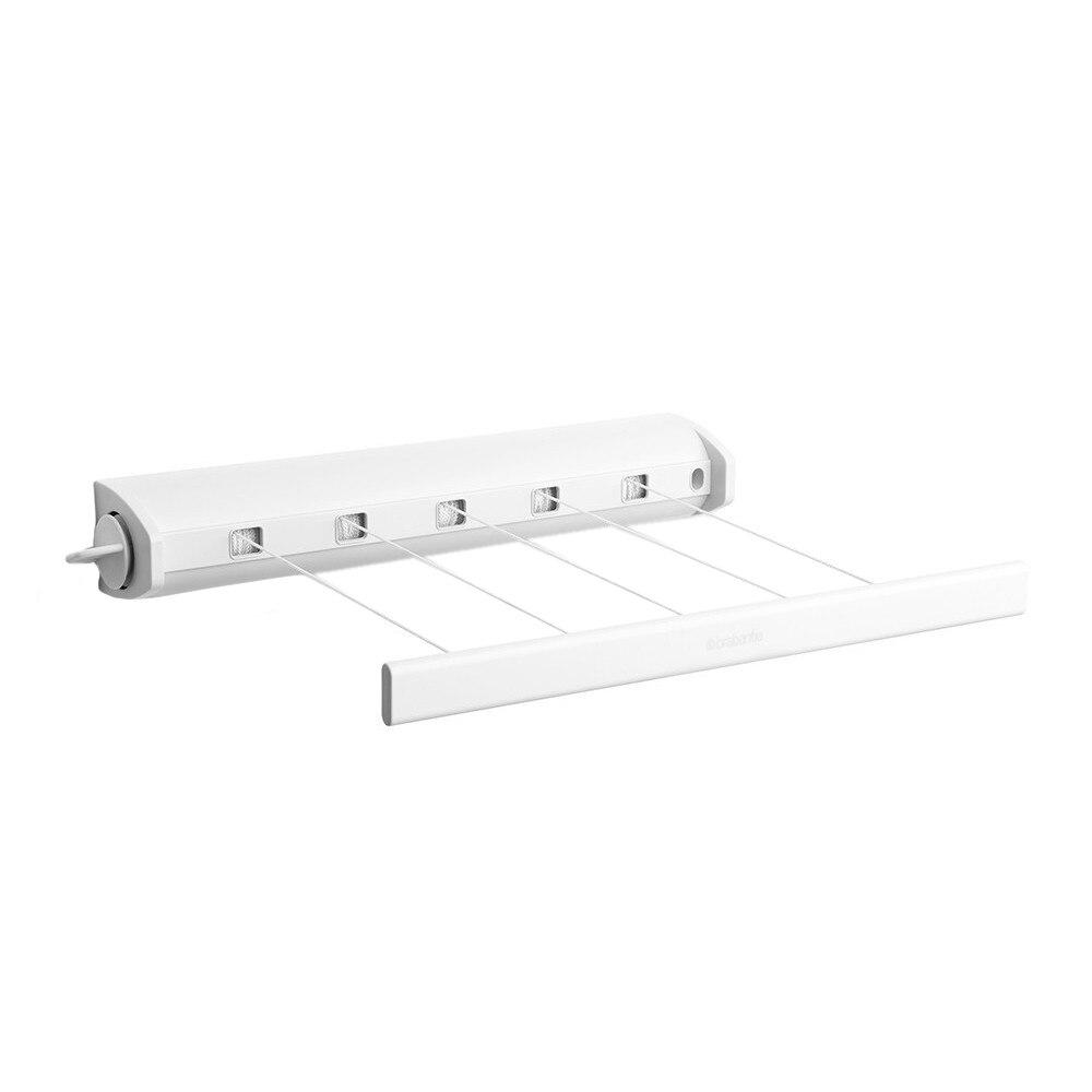 Fotografie Uscator de rufe extensibil Brabantia, alb, plastic, 22 m