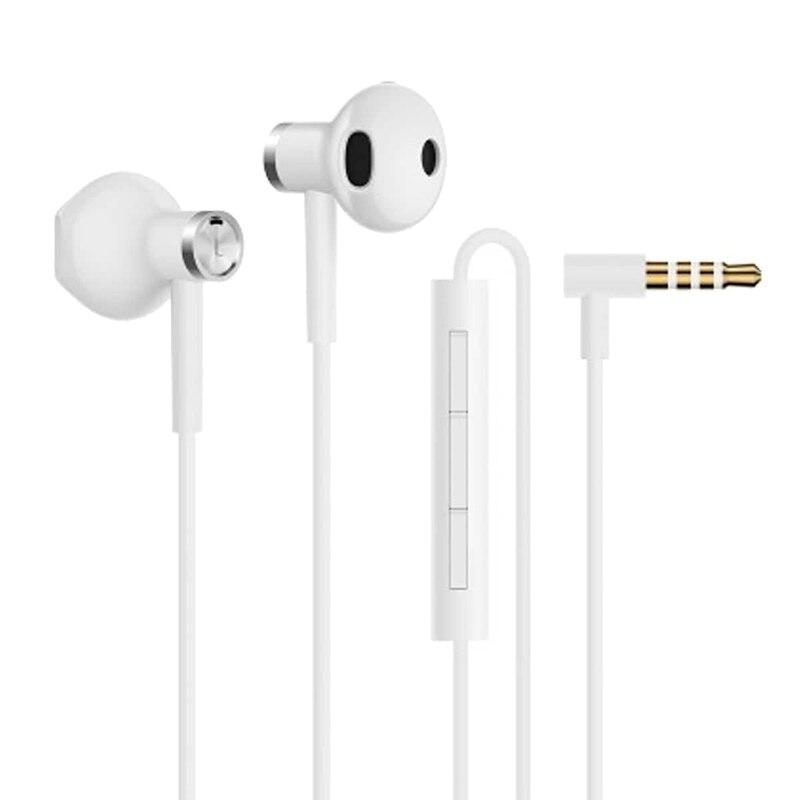 Fotografie Casti audio in-ear Xiaomi Mi Dual Driver, 1.2m, White