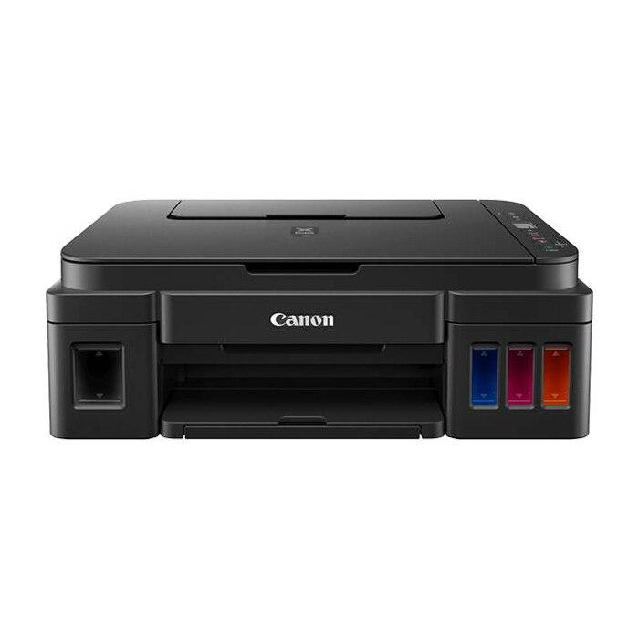 Fotografie Multifunctional inkjet CISS Canon PIXMA G2415, A4, 12000 de pagini black , 7000 de pagini color