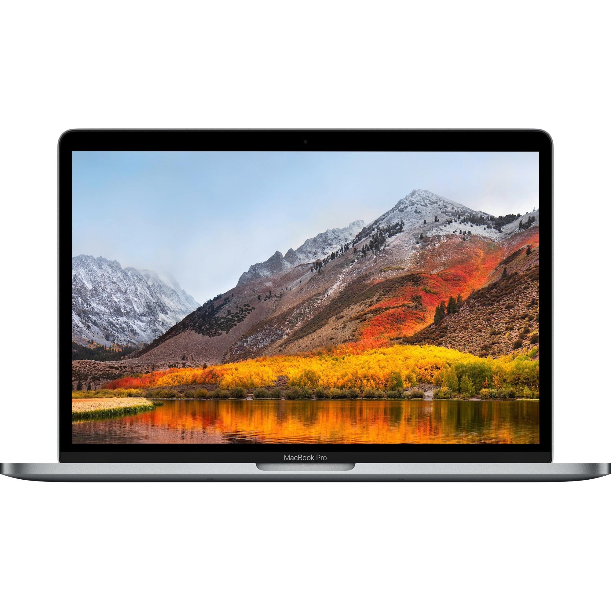 Fotografie Laptop Apple MacBook Pro 13, ecran Retina, Touch Bar, procesor Intel® Core™ i5 2.40 GHz, 8GB, 256GB SSD, Intel Iris Plus Graphics 655, macOS Mojave, ROM KB, Space Grey
