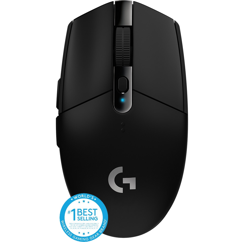 Fotografie Mouse gaming wireless Logitech G305 LightSpeed Hero 12K DPI, Negru