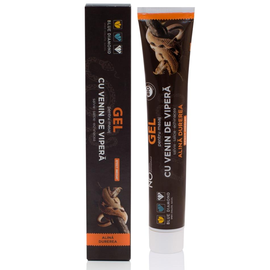 Viperel - Crema tip unguent pentru masaj cu venin de vipera, 50 ml, Ammodytes