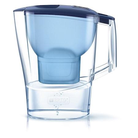 Brita Aluna Cool MaxtraPlus vízszűrő kancsó, 2.4 L, Kék