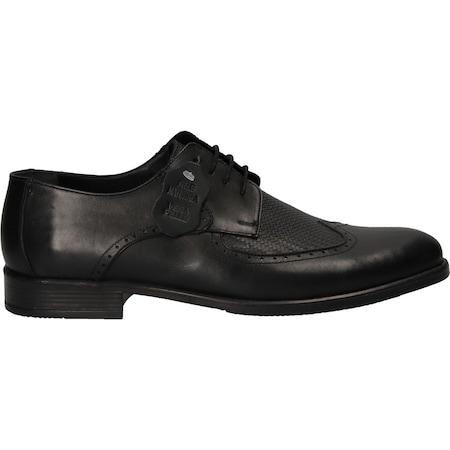 Pantofi din piele naturala naturala, Negru , Marimea 42