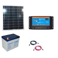 kit fotovoltaic 50w