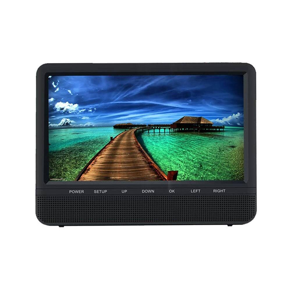 "Fotografie Monitor tetiera HD Edotec Travelmate 9+, ecran 9"", player USB si SD card, detasabil, telecomanda"