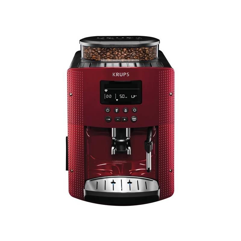 Krups EA815570 Espresseria automata kávéfőző, vörös