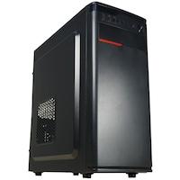 Настолен компютър GeFors Silver VI с Клавиатура, Мишка - Intel ® G3220 3GHz Haswell, 4GB RAM, 500GB HDD, Intel® HD Graphics, DVD-RW