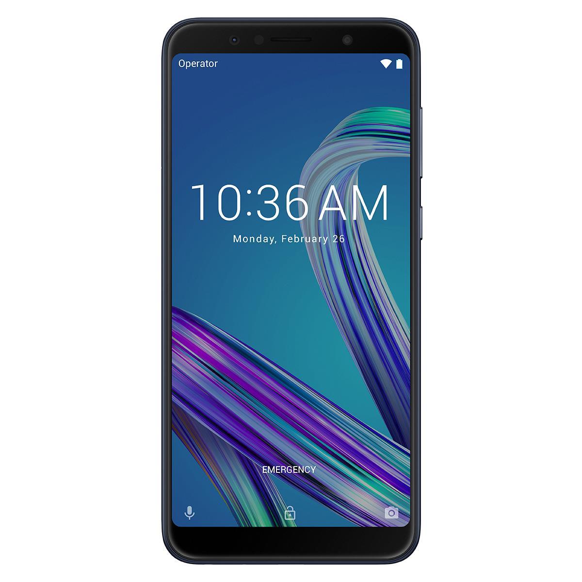Fotografie Telefon mobil ASUS ZenFone Max Pro ZB602KL, Dual SIM, 64GB, 4G, Negru