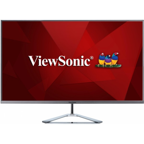 """Fotografie Monitor LED IPS ViewSonic 31.5"""",10-bit, WQHD, Display Port, Argintiu, VX3276-2K-MHD"""