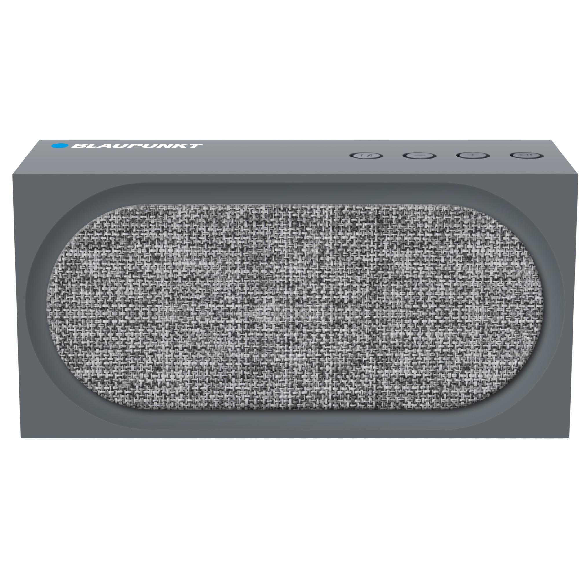 Fotografie Boxa portabila Blaupunkt BT06BK, FM, SD, USB, AUX, gri
