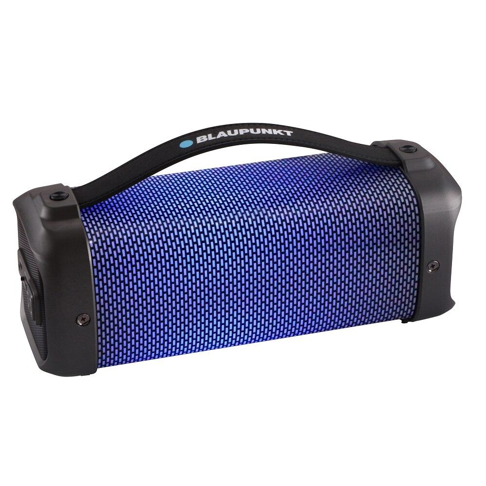 Fotografie Boxa portabila Blaupunkt BT30LED, FM, USB, USB, AUX, LED