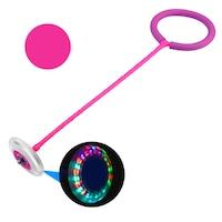 Skip Ball, LED-es megvilágítás, mérete 20 x 16 x 8 cm, rózsaszín