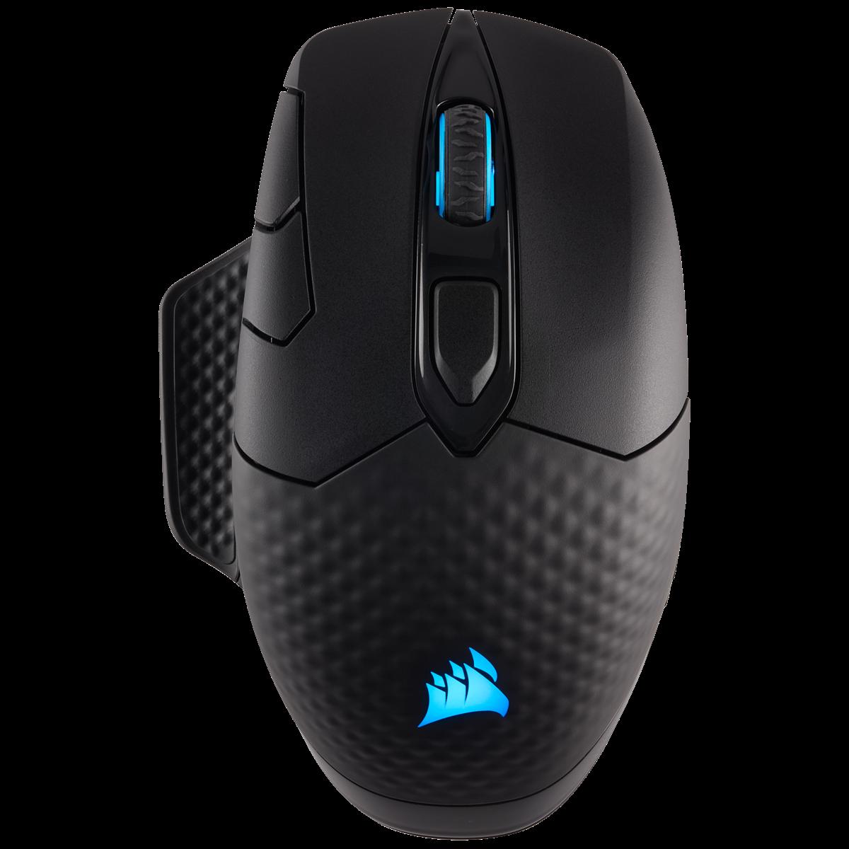Fotografie Mouse gaming Corsair Dark Core SE RGB, senzor optic 16000DPI, Negru
