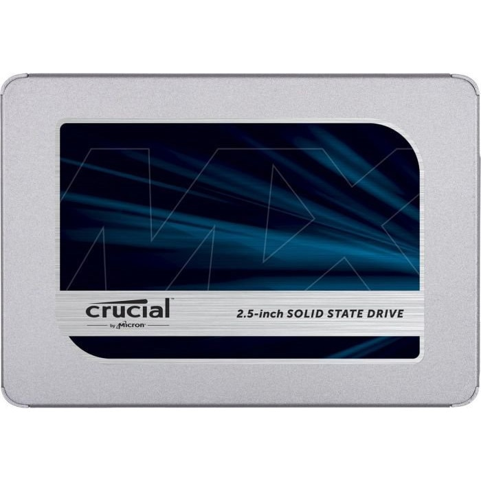 Fotografie Solid-State Drive (SSD) CRUCIAL MX500, 2TB, 2.5""