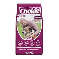 Hrana uscata pentru caini Cookie, Everyday Complete Menu Adult, 10 Kg