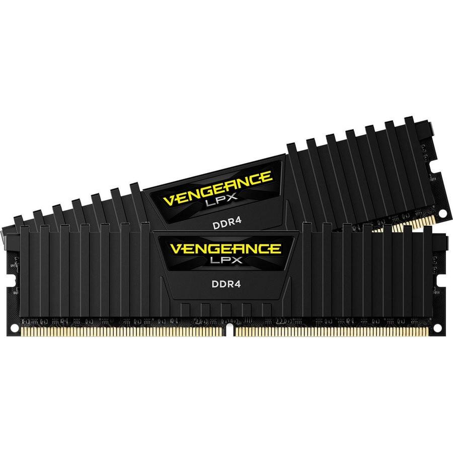Fotografie Memorie Corsair Vengeance LPX Black 8GB, DDR4, 2666MHz, CL16, Dual Channel Kit