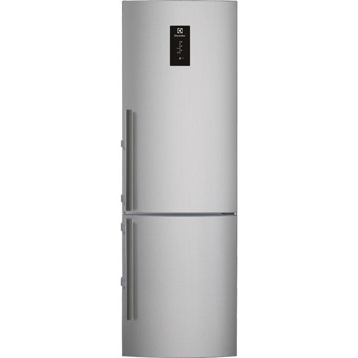Fotografie Combina frigorifica Electrolux EN3854MOX, 357 l, Clasa A++, Full No Frost, H 200 cm, Display, Touch control, Inox antiamprenta