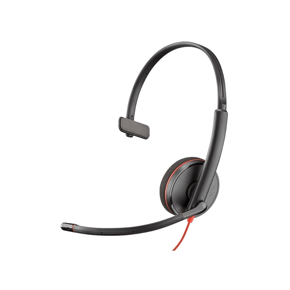Fotografie Casca Call Center Plantronics Blackwire C3215, USB-C, Monoaural