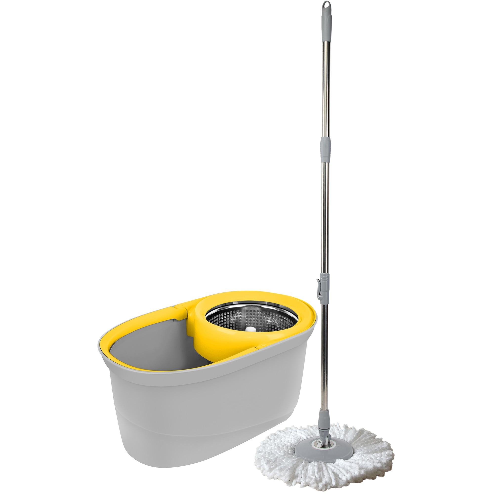 Fotografie Set Spin Apex mop metalic + galeata