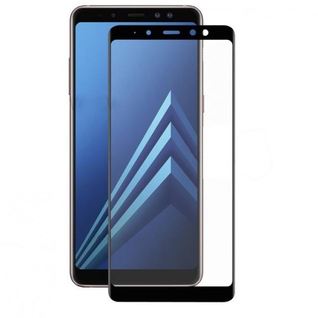 Fotografie Folie de protectie Tellur Sticla securizata 3D pentru Samsung Galaxy A8 Plus (2018), Negru