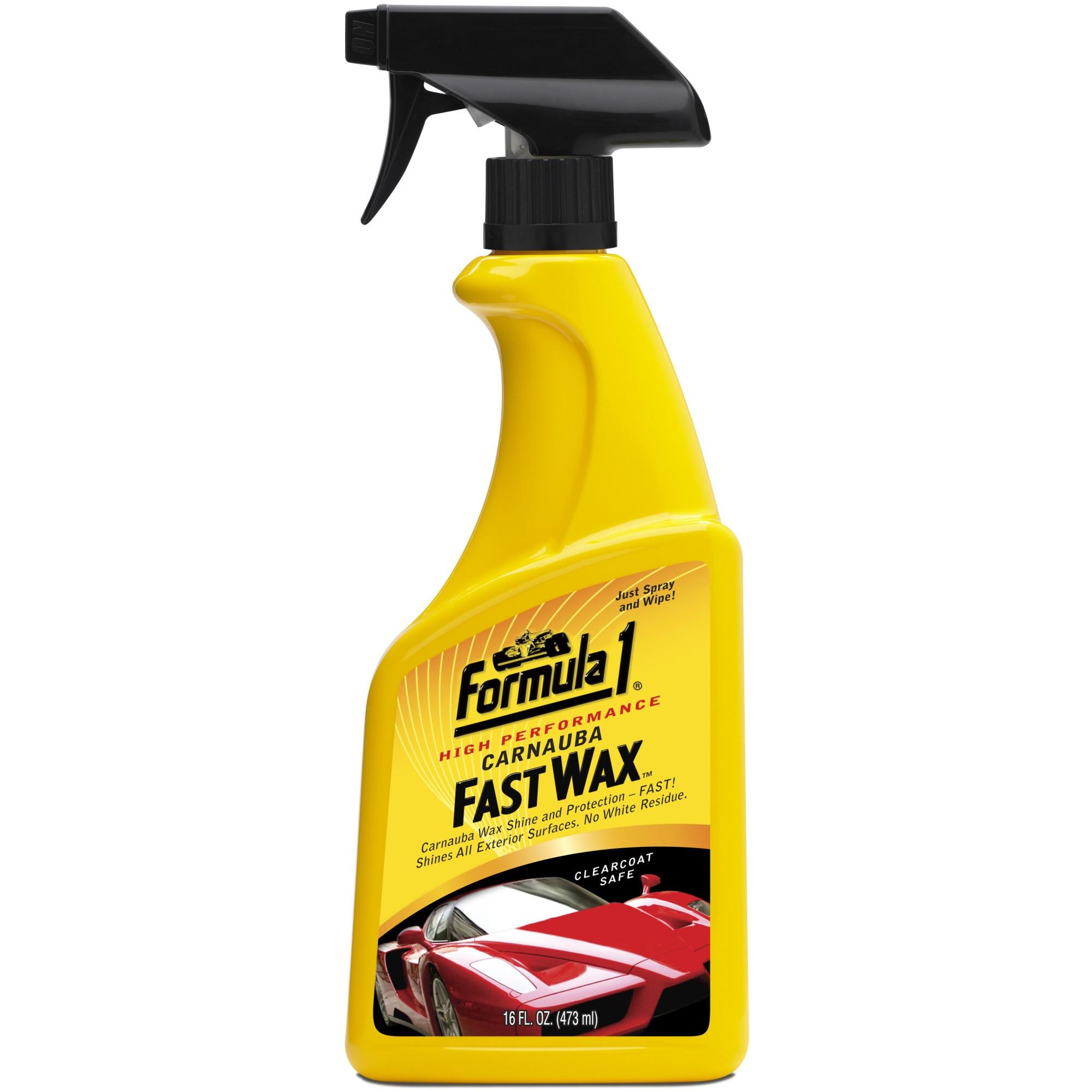 Folyekony Auto Viasz Fast Wax Spray And Wipe Formula 1 Emag Hu
