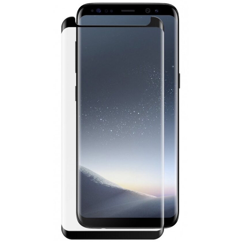 Fotografie Folie de protectie Vetter GO Tempered Glass Full Frame pentru Samsung Galaxy S8 Plus, Black