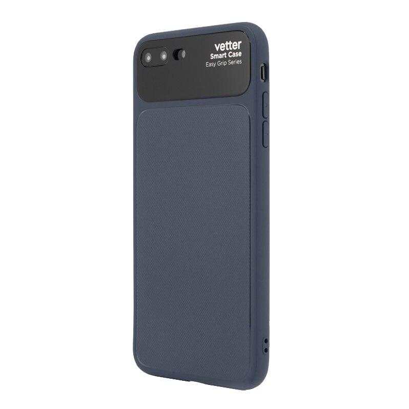 Fotografie Husa de protectie Vetter Smart Case Easy Grip pentru Apple iPhone 8 Plus / 7 Plus, Blue