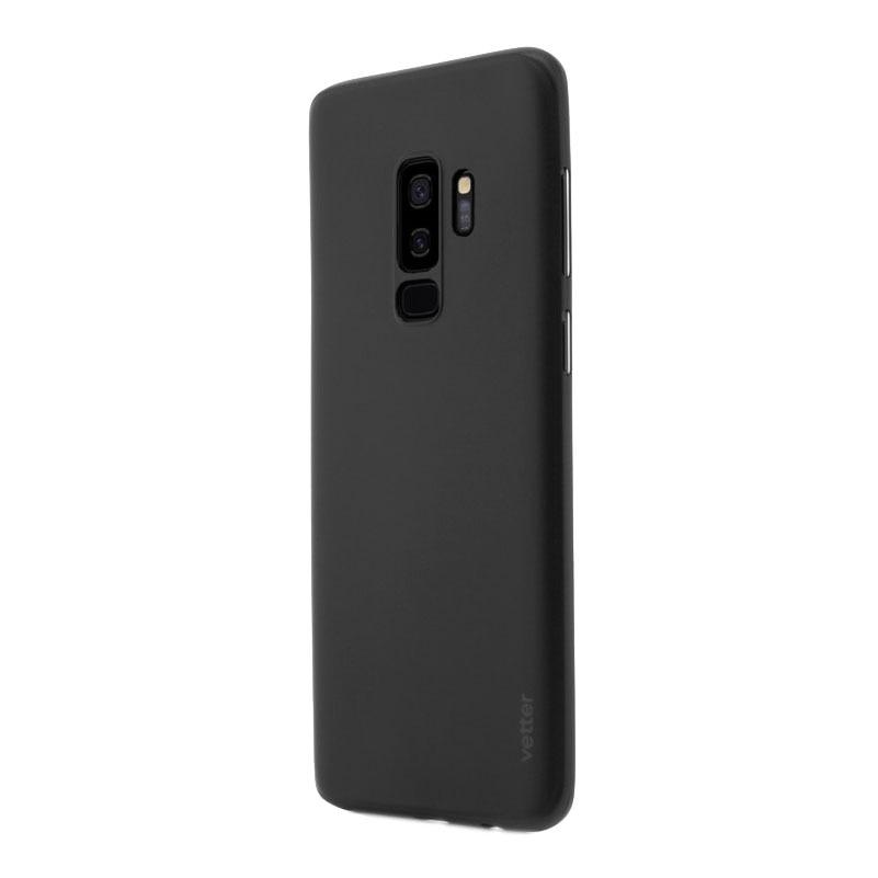 Fotografie Husa de protectie Vetter Clip-On, Ultra Thin Air Series pentru Samsung Galaxy S9 Plus, Black