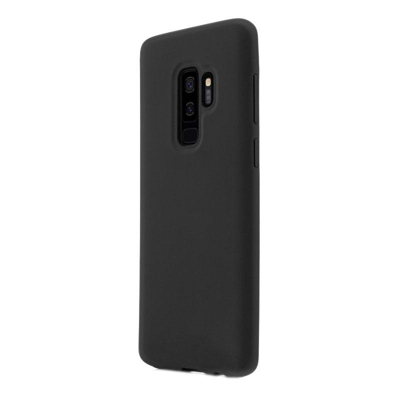 Fotografie Husa de protectie Vetter Clip-On Soft Touch Silk Series pentru Samsung Galaxy S9 Plus, Black