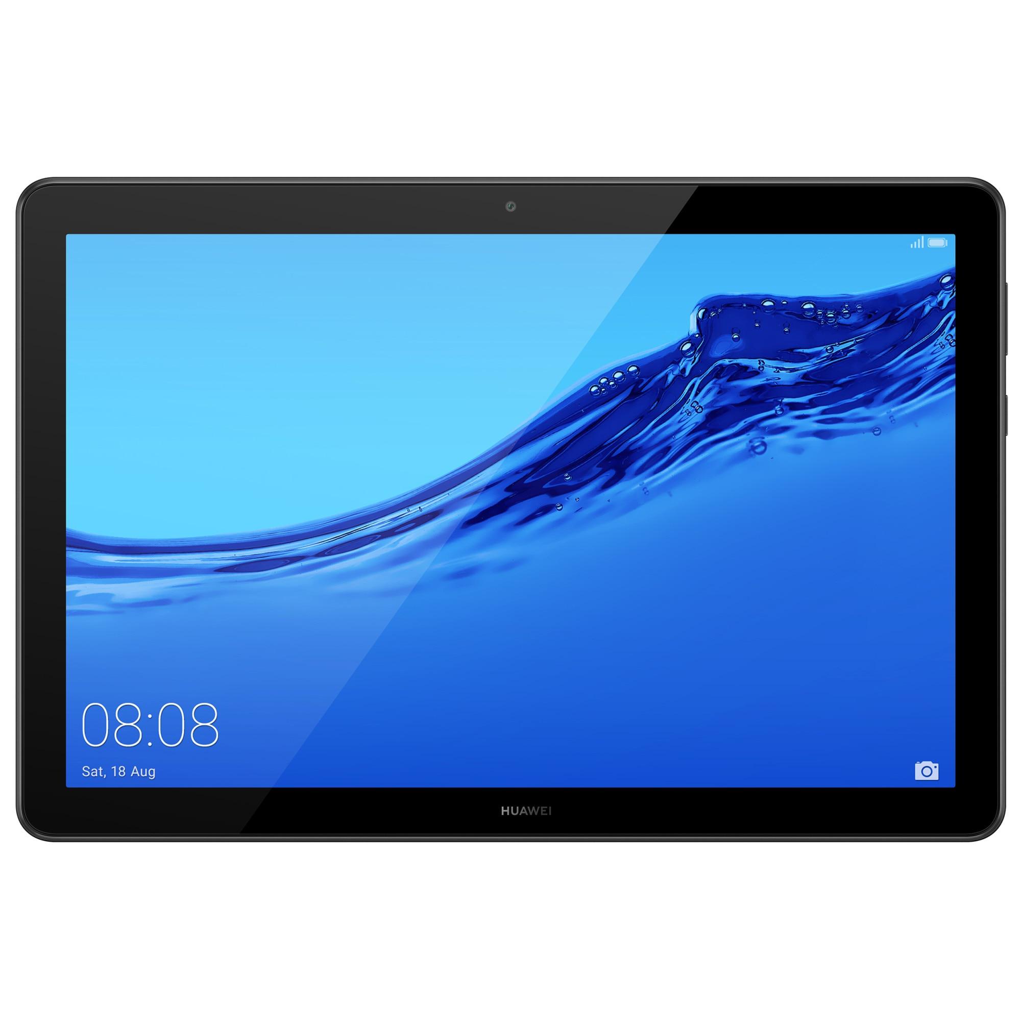 """Fotografie Tableta Huawei Mediapad T5, Octa Core 2.36 GHz, 10.1"""", 3GB RAM, 32GB, Wi-Fi, Black"""