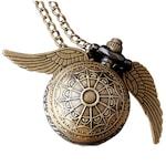 Harry Potter Nyaklánc Óra Golden Snitch M1