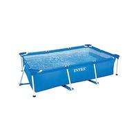 INTEX Frame Pool Family családi medence, 220 x 150 x 60 cm