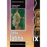 Limba latina. Manual pentru clasa a IX-a, autor Iancu Fischer