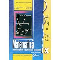Matematica TC+CD. Manual pentru clasa a IX-a, autor Mihalca D.