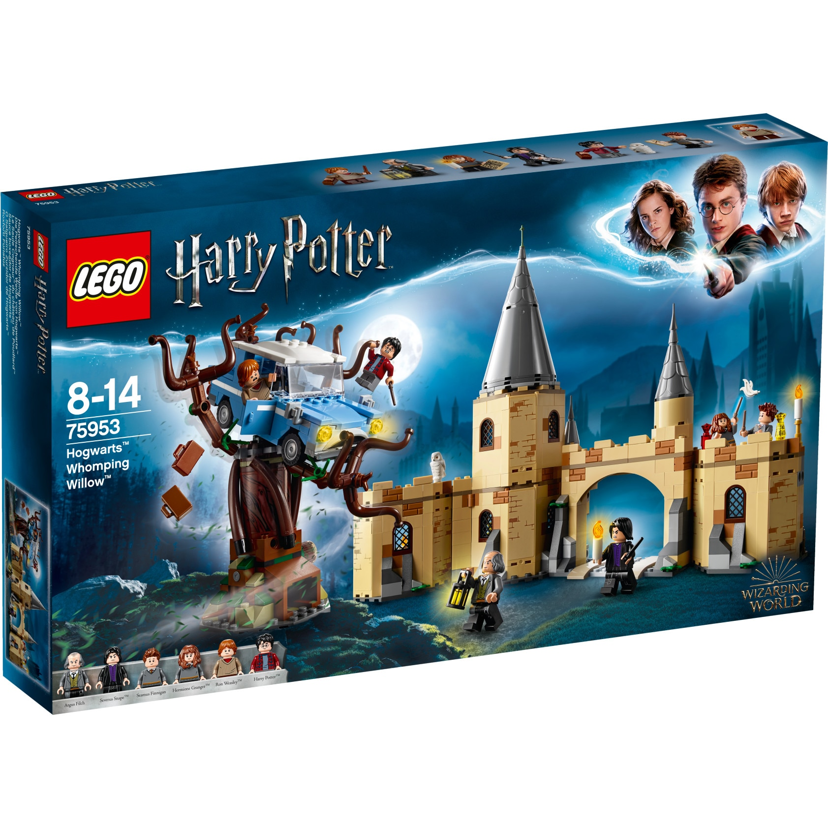 Fotografie LEGO Harry Potter - Hogwarts Whomping Willow 75953, 753 piese