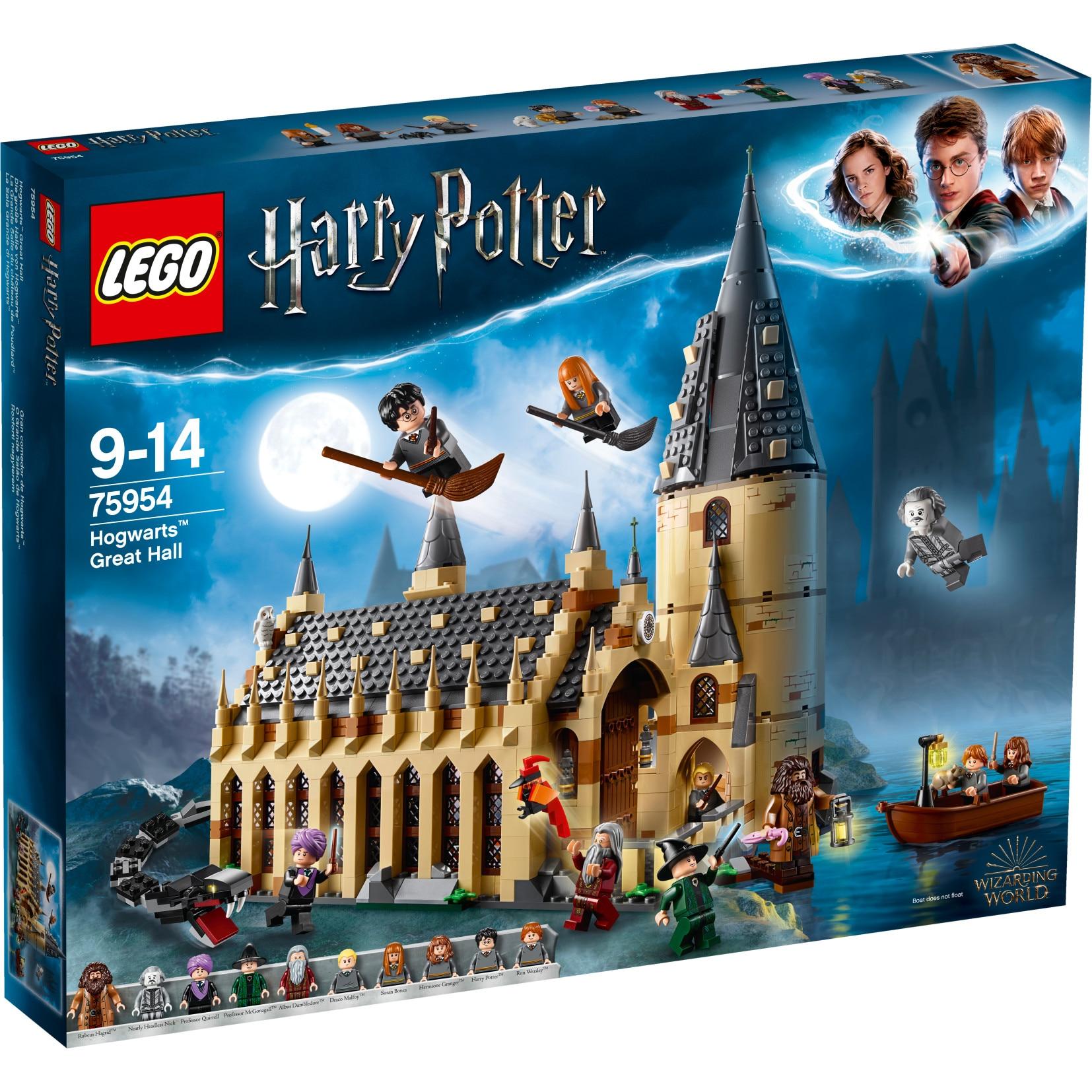Fotografie LEGO Harry Potter - Sala Mare Hogwarts 75954