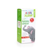 Xilites, hígító hatású orrcsepp gyerekek vagy csecsemők számára, 100%-ban természetes összetevőket tartalmaz, nem okoz függőséget, 22 ml, XLEAR