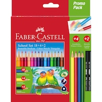 set creioane grafit faber castell