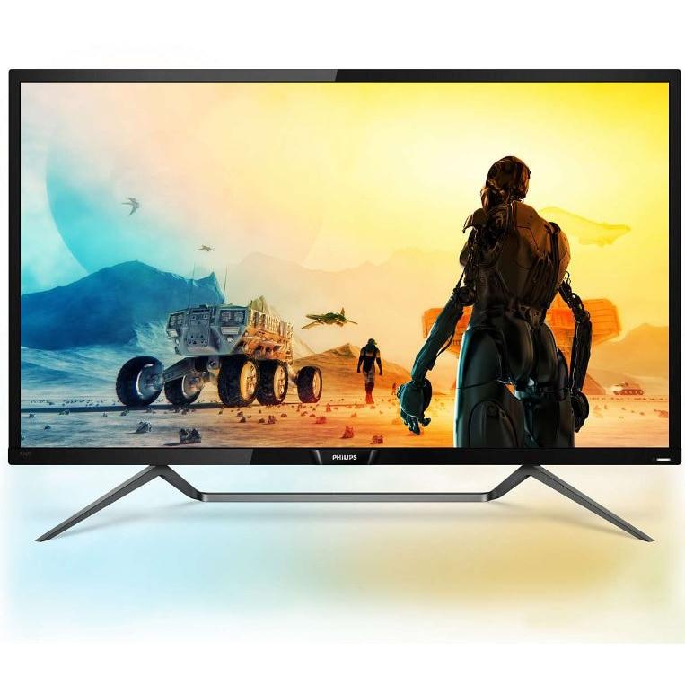 "Fotografie Monitor gaming LED VA Philips 42.5"", Quantum Dot, 4K UHD, HDR 1000, FreeSync, Display Port, Negru, 436M6VBPAB"