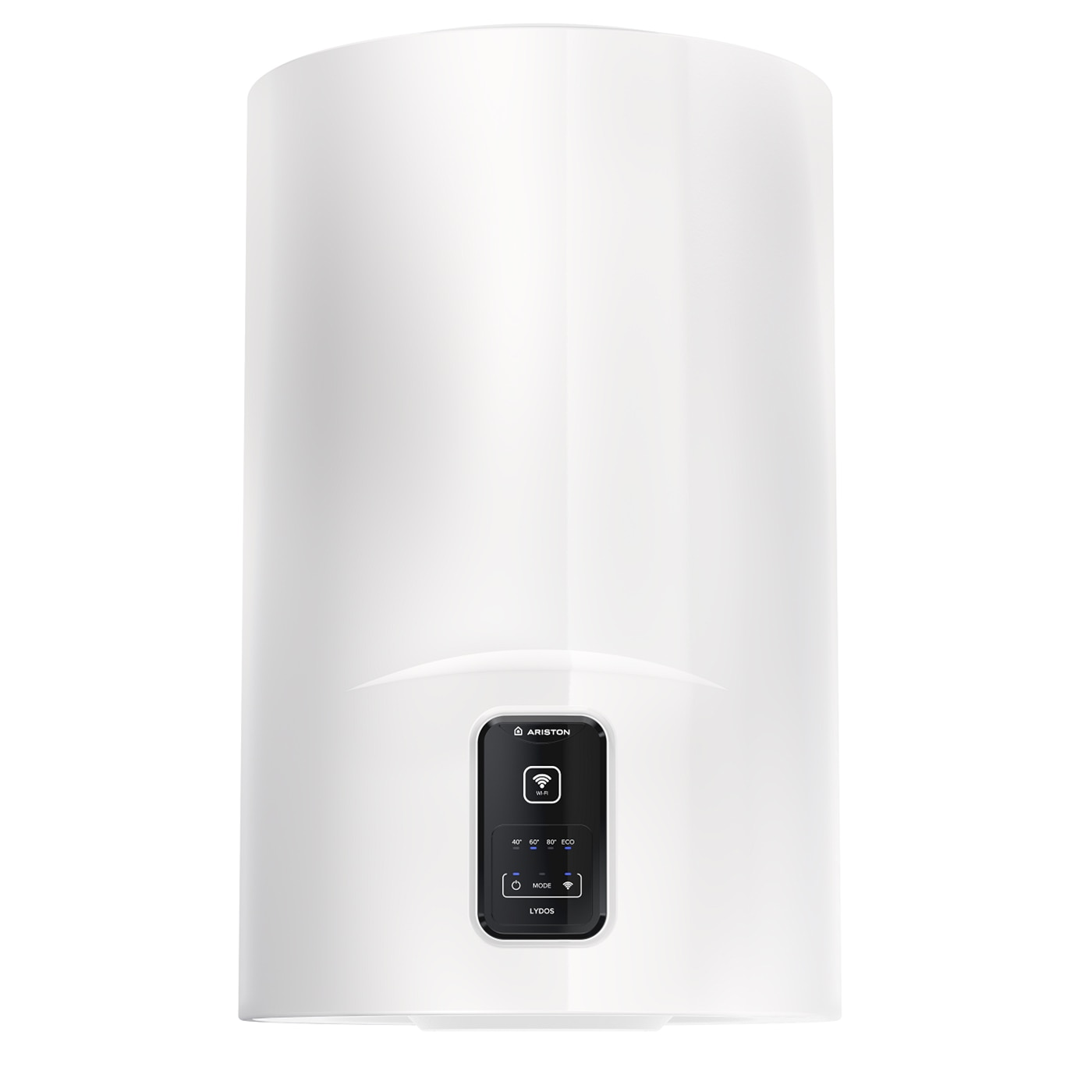Fotografie Boiler electric Ariston Lydos Wi-Fi 80L, 1800 W, conectivitate internet, rezervor emailat cu Titan