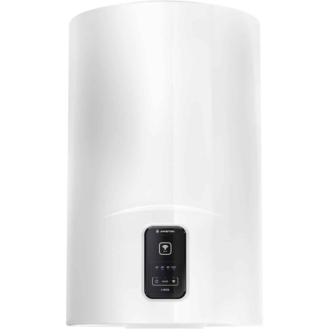 Fotografie Boiler electric Ariston Lydos Wi-Fi 50L, 1800 W, conectivitate internet, rezervor emailat cu Titan