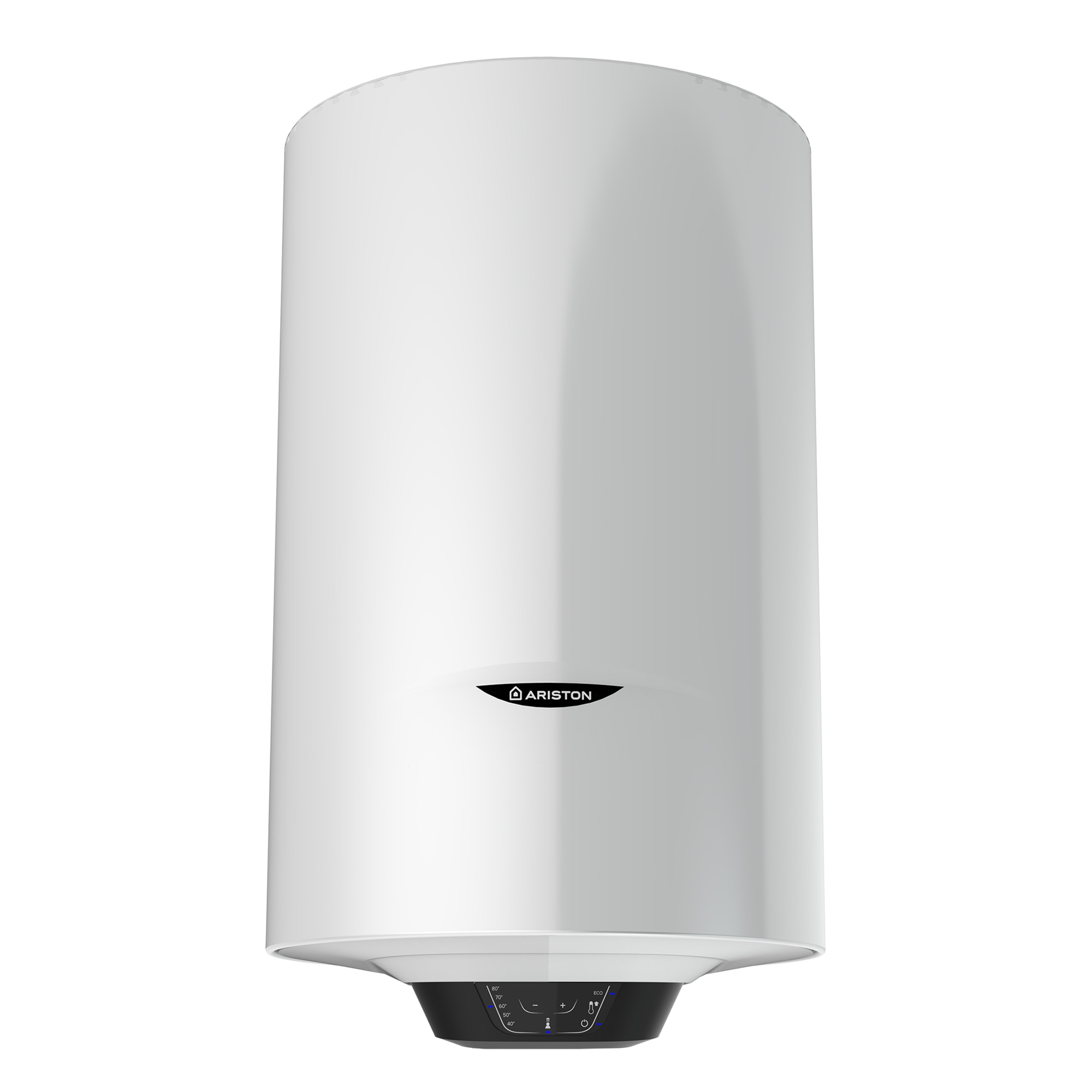 Fotografie Boiler electric Ariston Pro 1 Eco 80L, 1800 W, functie Eco Evo, rezervor emailat cu Titan