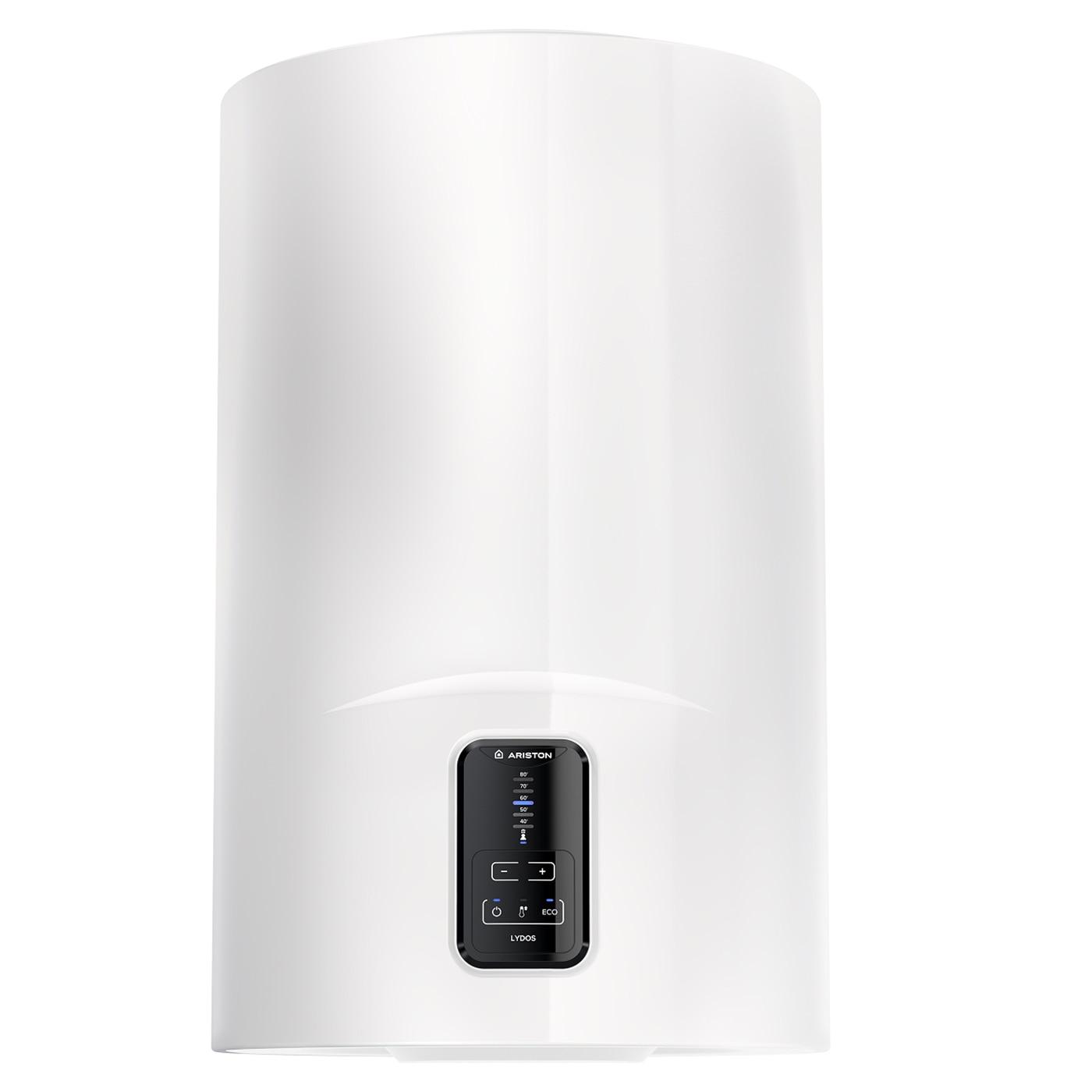 Fotografie Boiler electric Ariston Lydos Eco 80L, 1800 W, functie Eco Evo, rezervor emailat cu Titan