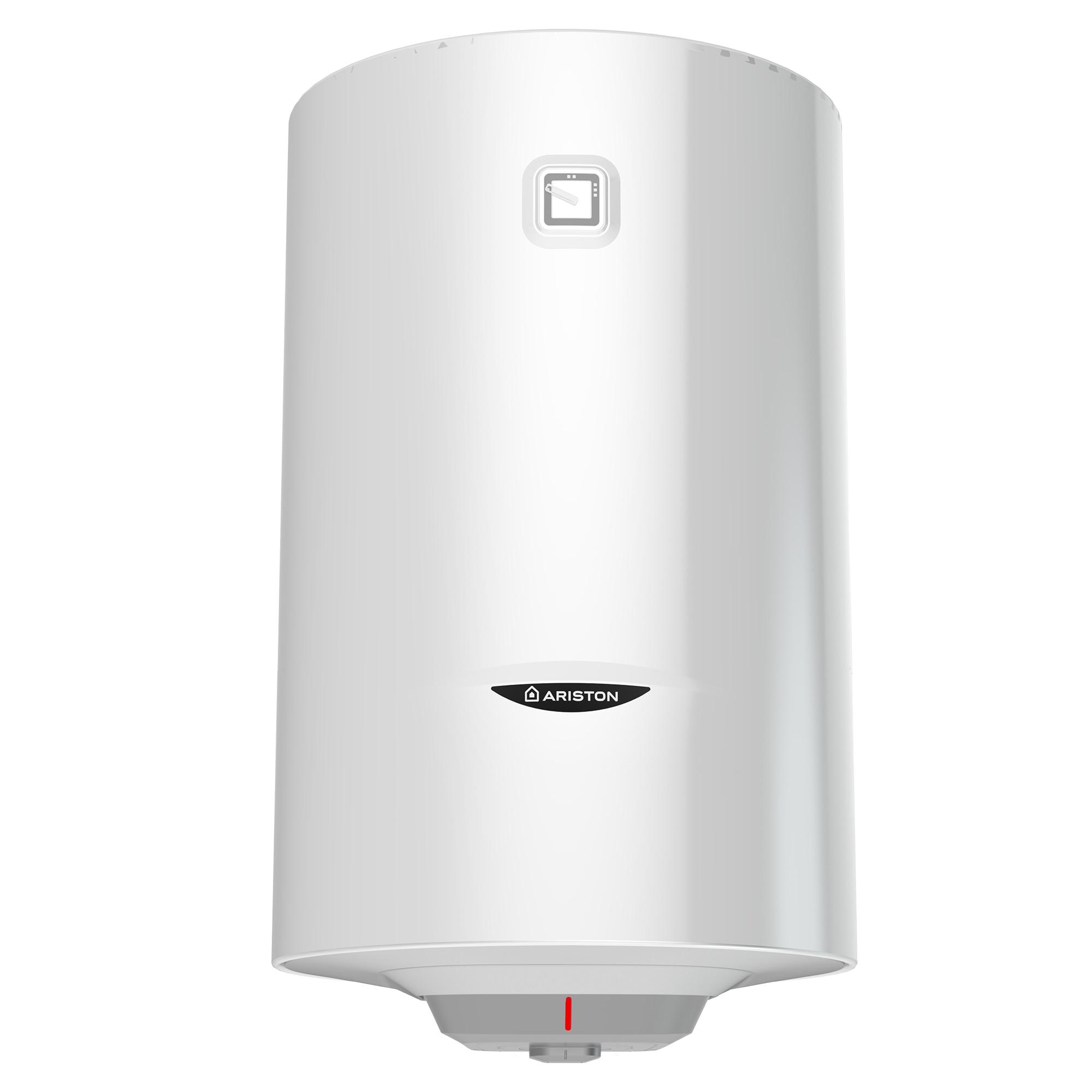 Fotografie Boiler termoelectric Ariston Pro 1 R VTS 100L, 1800W, serpentina pe partea stanga