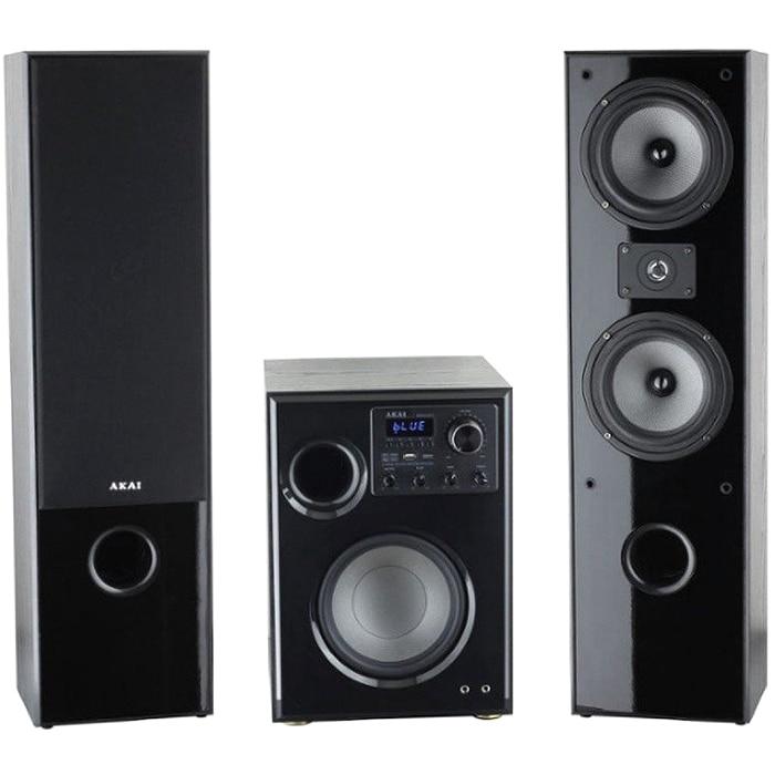 Fotografie Sistem boxe active Akai SS034-66T, 2.1, 100W, Bluetooth, negru