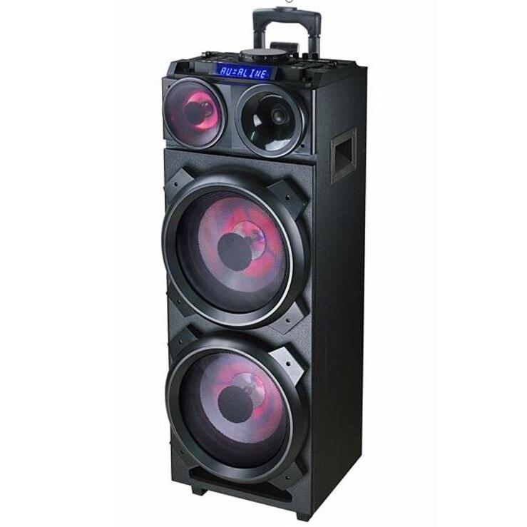 Fotografie Sistem audio Akai DJ-3210, Bluetooth, DJ effects, party light, negru
